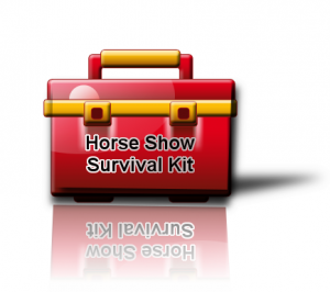 Horse Show Survival Tool Kit